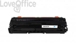 Toner Rigenerato Samsung C503L - CLT-C503L Ciano - 5000 pagine