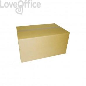 Scatole imballo avana 30x20x20 cm 2 onde (conf. 15 pezzi)