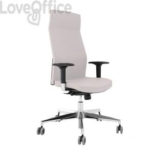 sedia da ufficio bianca ergonomica modello Europa