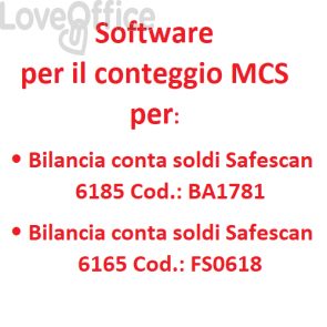 software per bilancia contasoldi Safescan