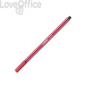 Stabilo pennarello rosso scuro Pen 68 in scatoletta di cartone 1 mm - da 7 anni