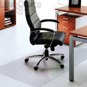 Tappeto protettivo salvapavimento Floortex Trasparente 180x200 cm