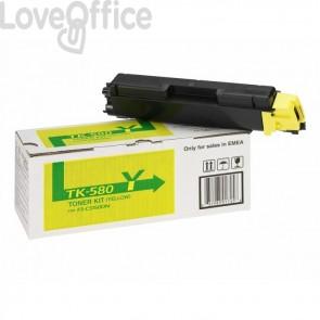 Toner Kyocera TK-580Y giallo compatibile