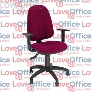 sedia operativa rossa unisit