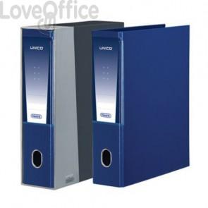 registratore a leva blu