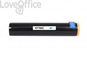 Toner compatibile Xerox 106R01160 ciano - 25000 pagine