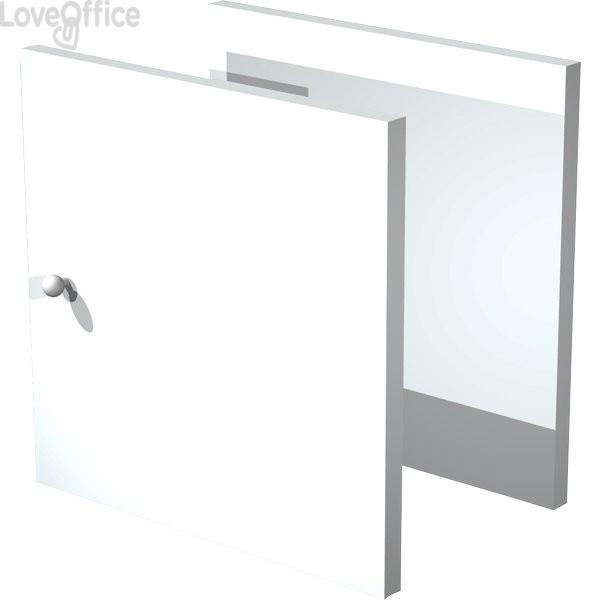 2 antine fronte & retro per libreria caselle Maxicube bianco Artexport - 32,2x1,8x32,2 cm - 2a MaxC/3