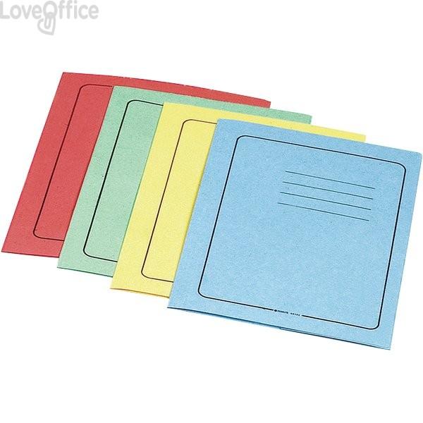 Cartelline manilla Esselte - Cartelline 3 lembi - azzurro - Riciclato - 295 g/mq (conf.25)