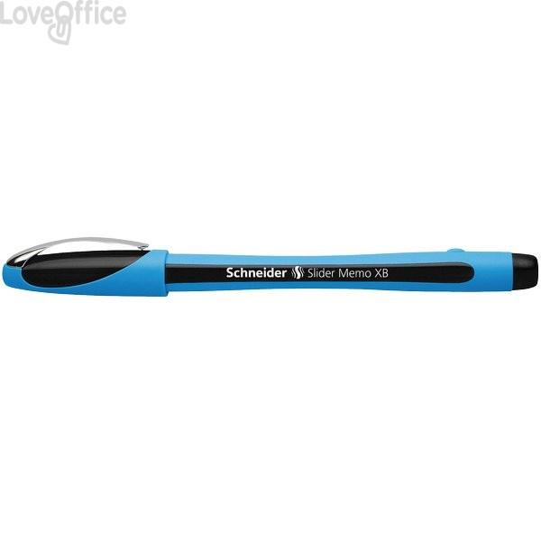 Penna a sfera nera Memo Schneider - P150201