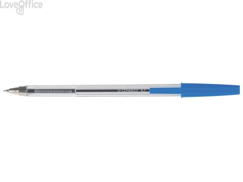 Penne a sfera Q-Connect M blu (conf. da 20)