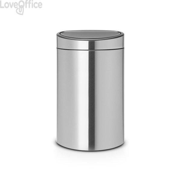 Pattumiera Touch Bin Next Brabantia - 44x30,5x72 cm - 40 litri - 114823