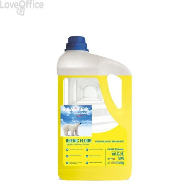 Detergente profumato per pavimenti Sanitec - 5 Kg - 1435