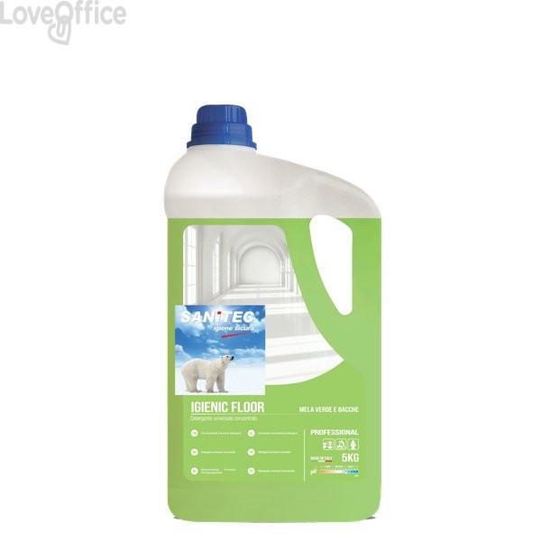 Detergente profumato per pavimenti Sanitec - 5 Kg - 1437