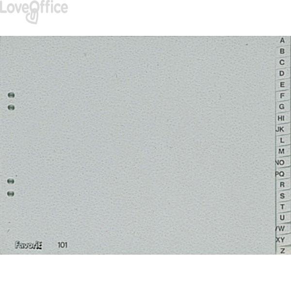 Divisori A-Z A4 orizzontale - Separex in Naturene Elba - 23x30,5 cm