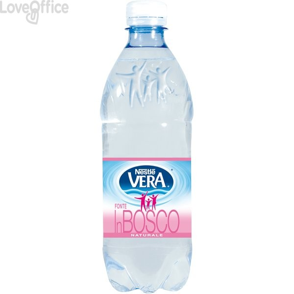 Bottiglie acqua minerale naturale mezzo litro Nestlé Vera in bosco (conf.6)
