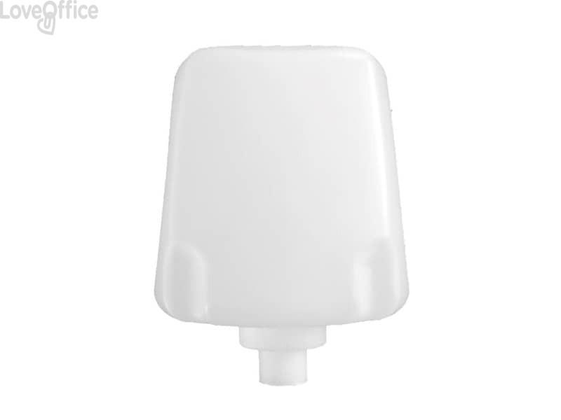 Cartuccia di sapone schiuma per IN-FOA/WC QTS capacità 800 ml cartuccia bianca, sapone azzurro (conf. 6 pezzi)