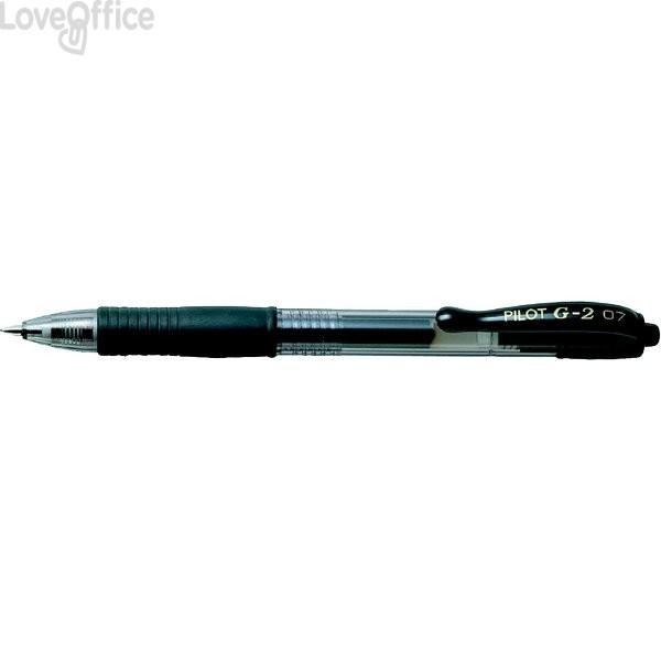 Penna a sfera a scatto G-2 Pilot - blu stilografico - 0,7 mm - 001489
