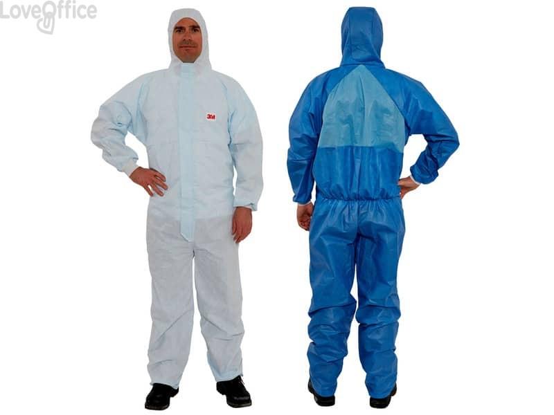 Tuta da lavoro di protezione 3M blu M 4532 M