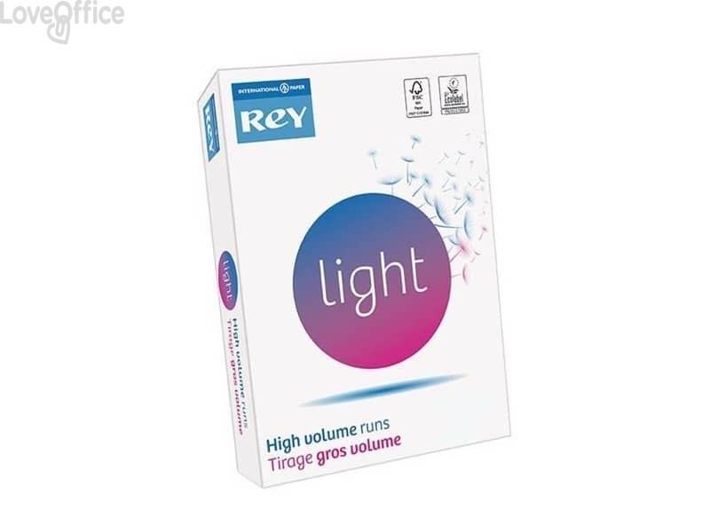 Carta per fotocopie A3 bianca INTERNATIONAL PAPER Rey Light 75 g/m² 161 CIE (risma da 500 fogli)