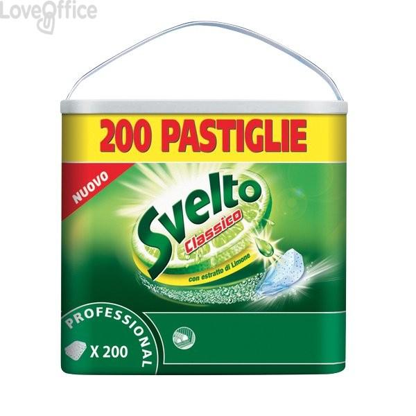 Svelto tablets per lavastoviglie - 7510491 (conf. 200 pastiglie)