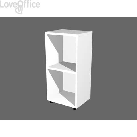 Libreria componibile Artexport Protocollo cm - Bianco - 40x32x81,5 cm