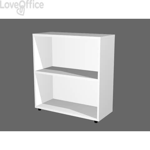 Libreria componibile Artexport Protocollo - Bianco - 76x32x81,5 cm