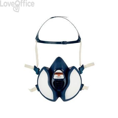 Respiratore a semimaschera 3M™ riutilizzabile classe FFA2P3 RD blu - 4255+