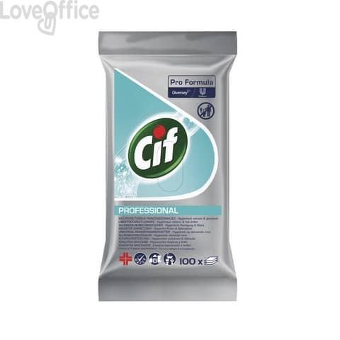 Salviette igienizzanti Cif bianco - 101102238 (conf. 100 pezzi)