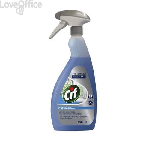 Detergente per vetri e specchi Cif blu flacone 750 ml - 7517905