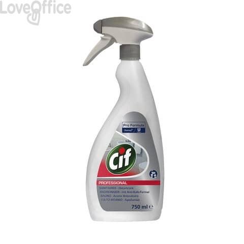 Detergente anticalcare per il bagno CiF 2in 1 750 ml