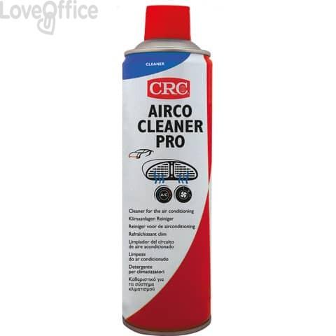 Detergente per climatizzatori auto e condizionatori ambienti CRC Airco Cleaner Pro - aerosol 500 ml C8402