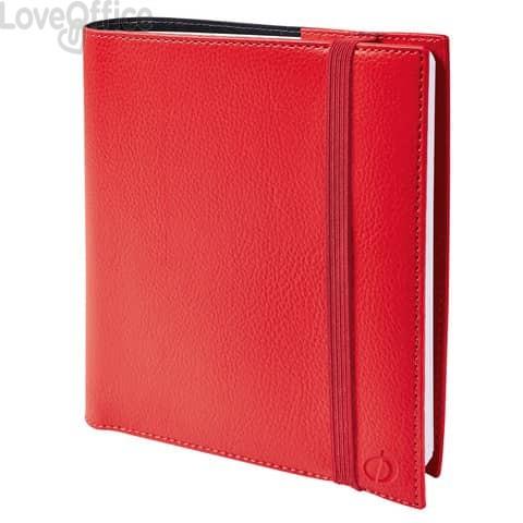 Agenda settimanale 2021 Quo Vadis Time&Life Medium 16x16 cm rosso 54001021MQ