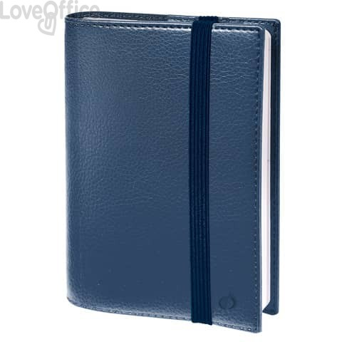 Agenda settimanale 2021 Quo Vadis Time&Life Pocket 10x15 cm blu 53910121MQ