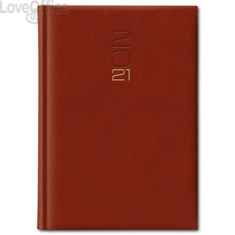 Agenda 2021 Giornaliera 14,5x20,5 cm S/D Madrid rosso inglese 0250KA-A25