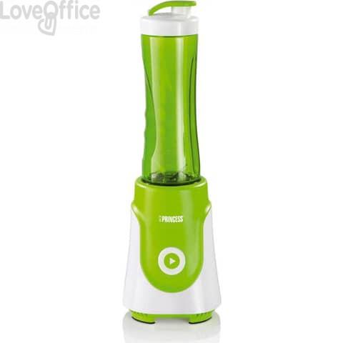 Frullatore Smoothie Maker Potenza 250 Watt Capacità 0.6 lt Lame in Acciaio Inox colore Verde - 01.218000.01.034