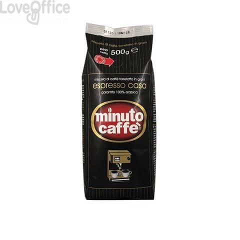 Caffè in grani Minuto Caffè Espresso Casa sacchetto 500 grammi - 00019