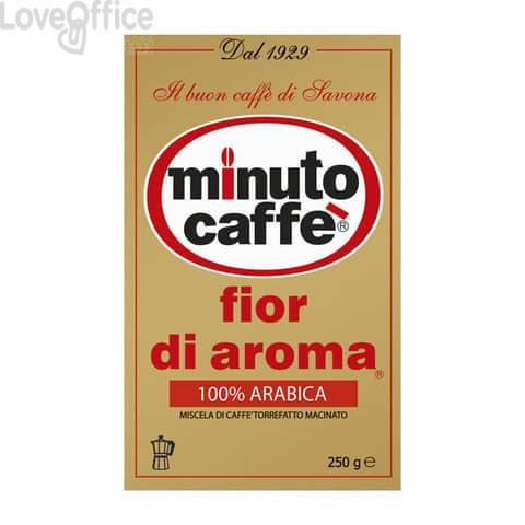 Caffè macinato Minuto caffè Fior di aroma - sacchetto 250 grammi - 00030