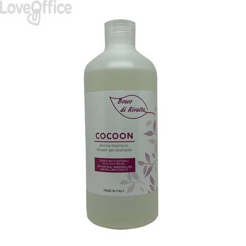Doccia shampoo Cocoon Bosco di Rivalta - 500 ml - profumo passiflora