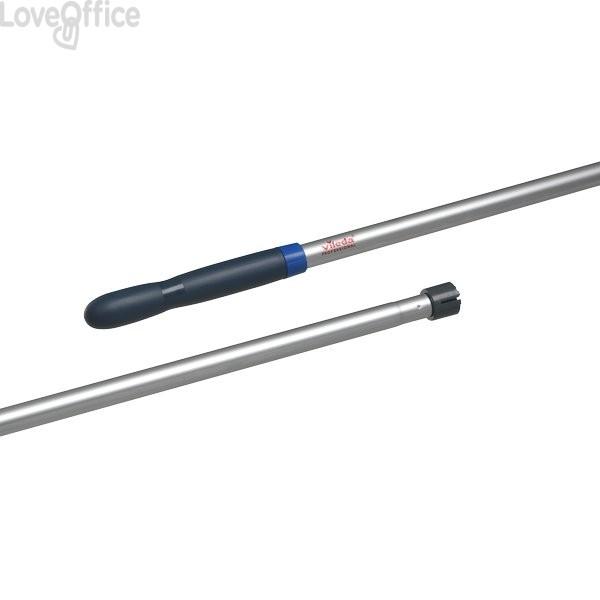 Manico per mop per Mocio professional Vileda - alluminio e PPL - 138x2,5x2,5 cm
