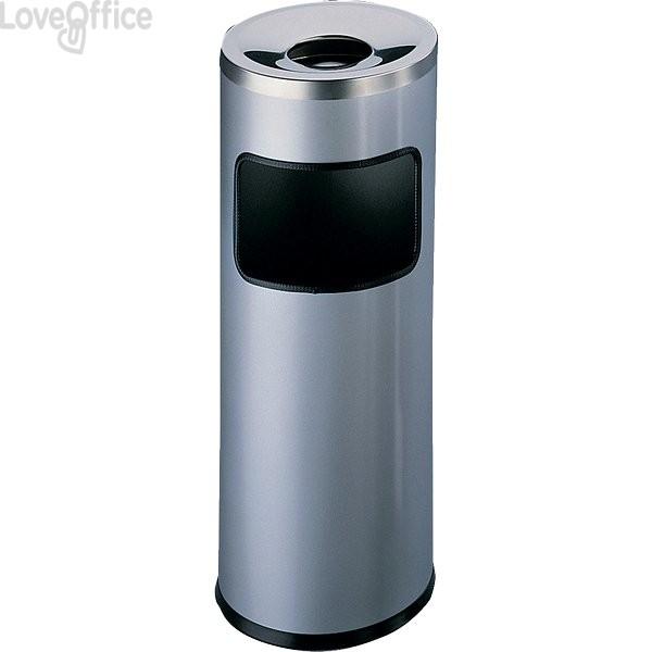 Posacenere autoestinguente Durable - argento - 63 cm - 25 cm - 3332-23