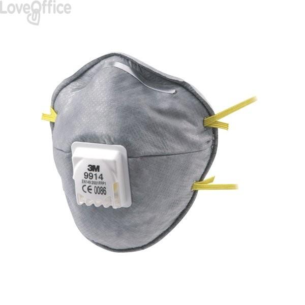 Respiratore 3M - FFP1 con strato di carboni attivi - gas e vapori - 51435 (conf.10)