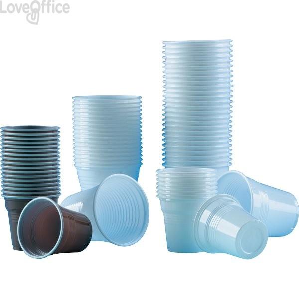 Bicchieri di plastica bianchi Vending DOpla - 80 cc - per Distributori manuali (conf.50)