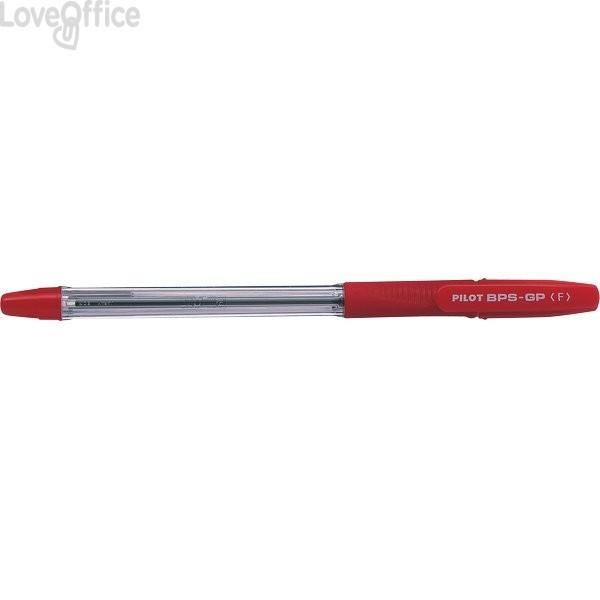 Penna a sfera BPS-GP Pilot - rosso - 0,7 mm - 001582