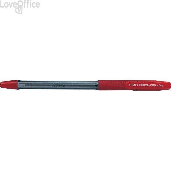 Penna a sfera BPS-GP Pilot - rosso - 1 mm - 001587