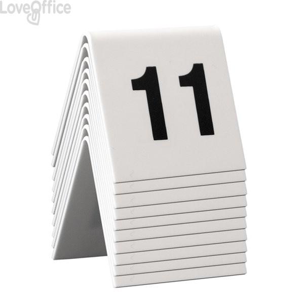Segnaposto set da n° 11 a n° 20 Securit TN-11 (conf. 10)