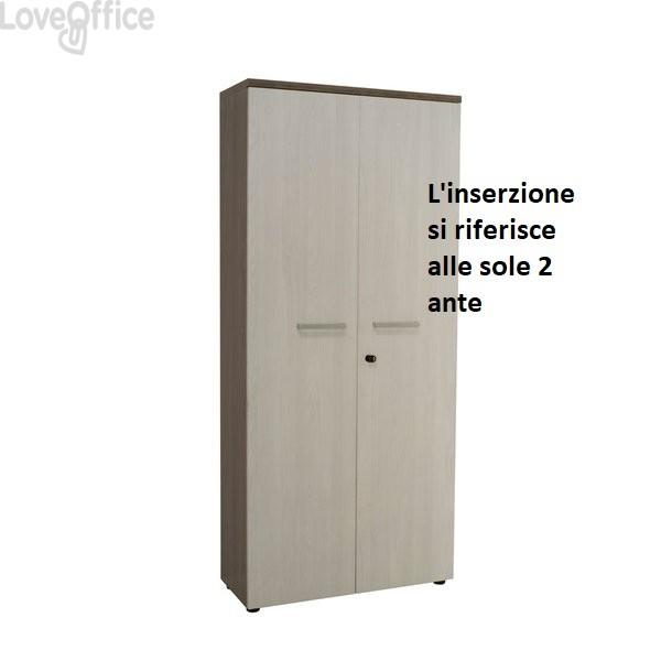 conf. di 2 Ante per mobile Firenze 80X35 H.183 - Unisit UFLAT8318
