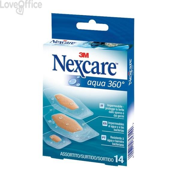 Cerotti Nexcare - Idro repellente - 14 cerotti - assortito - 65211 (conf.14)