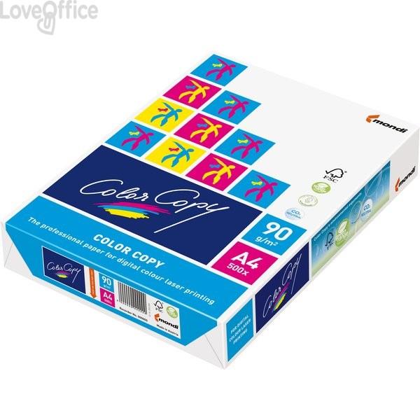 Risma di carta da fotocopie Color Copy Mondi - A4 - 90 g/mq (risma da 500 fogli)