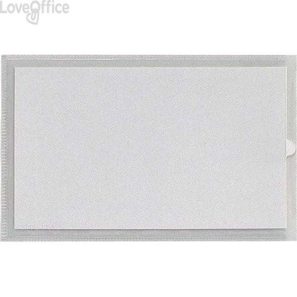 Portaetichette adesive IesTI Sei Rota - Senza etichette - 6,5x10 cm (conf.100)