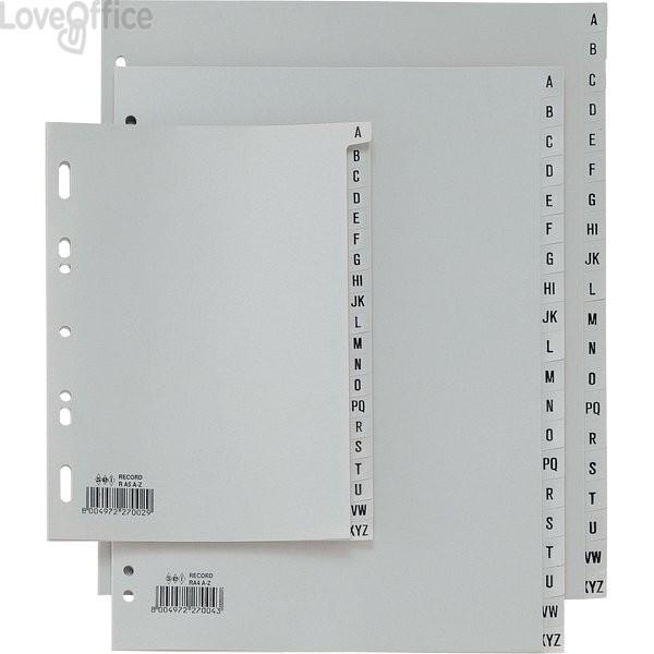 Separatori per rubrica alfabetica Record in PP Sei Rota - 21x29,7 cm - 581401